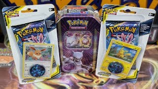 Pokemon Unbroken Bonds Blisters and Tin Opening! by The Pokémon Evolutionaries