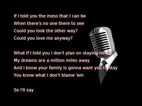 Darius Rucker - If I Told You (lyrics)