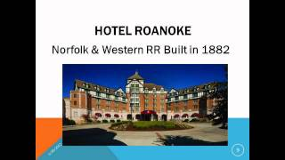 Roanoke (VA) United States  City new picture : Take a Roanoke, Virginia, USA, Train Vacation Today! HD!