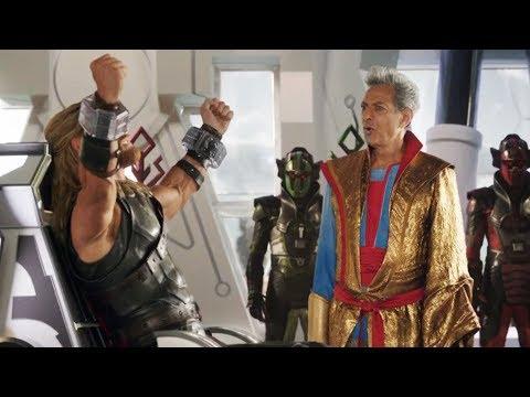 Thor Ragnarok GrandMaster Scene in Hindi Part 1