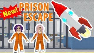 Roblox: NEW Prison Escape Obby / ESCAPE THE PRISON ON A ROCKETSHIP! 🚀