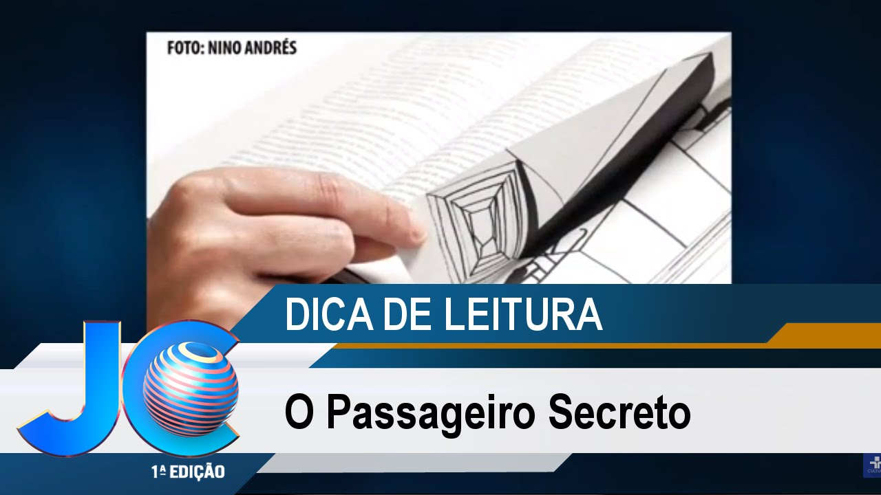 Dica de Leitura: O Passageiro Secreto