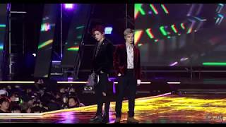 180224 NCT U Taeyong & Ten - Baby Don't Stop Live First Stage #NCT2018