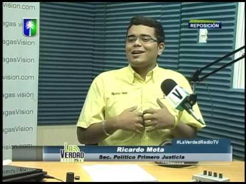 Entrevista a Ricardo Mota en La Verdad Radio TV