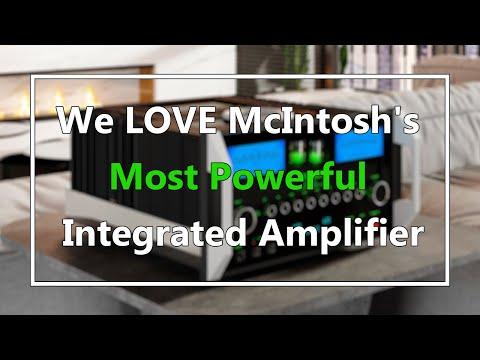McIntosh MA12000 Tube Hybrid Integrated Amplifier