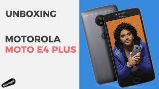 Recebemos o novo Motorola Moto E4 Plus para testes. Vamos ver o que tem dentro da caixa dele. Clique e confira a melhor oferta: http://www.buscape.com.br/sma...
