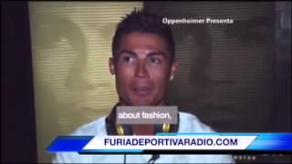 Cristiano Ronaldo explota en una entrevista en Estados Unidos