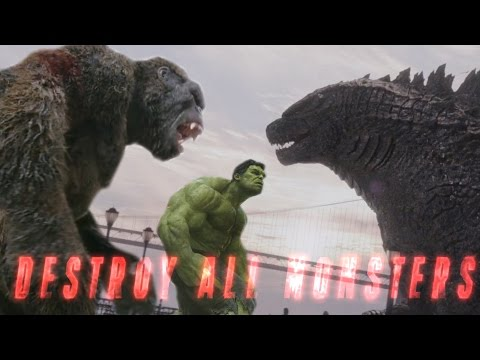 King Kong vs Godzilla vs Avengers FanMade