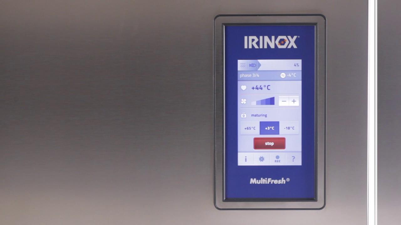 Irinox Multifresh MYA Tutorial - 05 Activation des notifications de la sonde