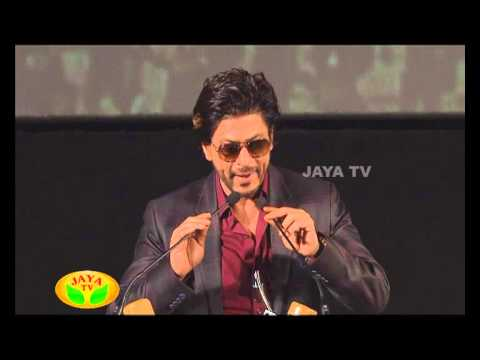 Speech By ARR & SRK In Kochadaiyaan Audio Launch 23 April 2014 03 PM