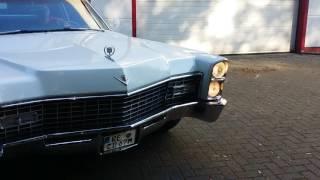 67er Cadillac Coupe DeVille 7 Liter V8 purer Sound
