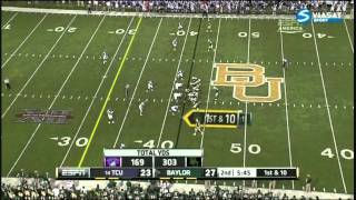 Robert Griffin III vs TCU 2011