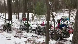 1. Mrs Enduro | FIRST RIDE | 2018 KAWASAKI KLX140G
