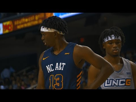 2019 HBCU Hoops: UNCG vs North Carolina A&T