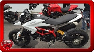 4. 2016 Ducati Hypermotard 939 Motorcycle Review