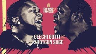 GEECHI GOTTI VS SHOTGUN SUGE SMACK RAP BATTLE | URLTV