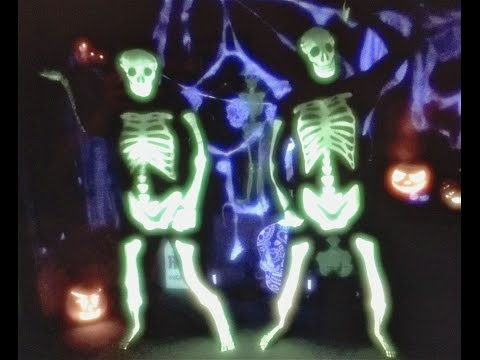 DAY OF THE DEAD DANCE  GLOW IN THE DARK SKELETON MORPHSUIT HALLOWEEN COSTUME FUN
