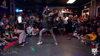 Boogie Frantick vs Slim Boogie – Freestyle Session 2017 Popping Semi Final (Another angle)