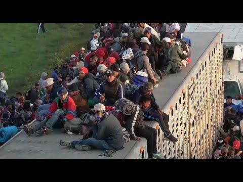 Λατινική Αμερική: Ένα μήνα στο δρόμο το καραβάνι των μεταναστών…