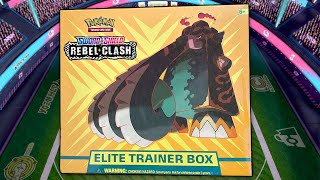 N Opens a Pokemon Rebel Clash Elite Trainer Box! by The Pokémon Evolutionaries