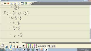 College Algebra: Combinations of Functions, Composite Functions