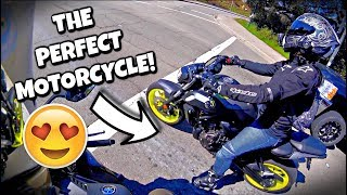 9. 2018 Yamaha MT-07 Review *IN LOVE?!*