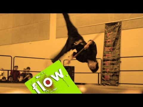 tricking - Travis Wong brings us highlights from the 2013 Compete Nationals & Hyper Games Tricking Battles, Subscribe for more: http://bit.ly/subscribetoflow The 2013 C...