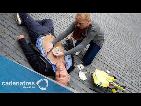 Crean en Holanda el drone ambulancia para casos de emergencia
