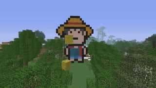 MINECRAFT TIMELAPSE - LUFFY