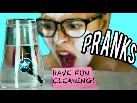 11 PRANKS FOR SIBLINGS! Get your Sister + Brother! NataliesOutlet (видео)