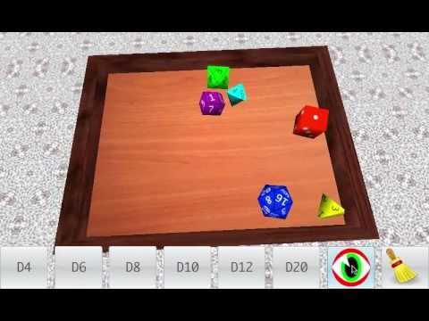 Video of Real Dice Roll (Free)