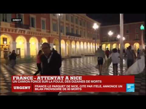 Attentat à Nice : 80 morts et plus de 100 blessés sur la Promenade des Anglais