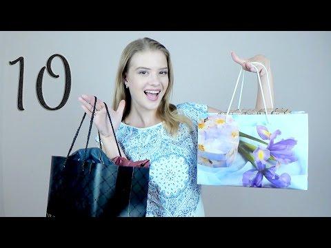 Распаковка №7 и примерка 10 посылок с Алиэкспресс | свитера, сумка, футболка, украшения, платья (видео)