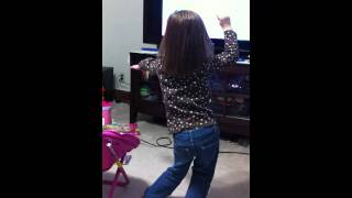Bella Dancing To Bubble Guppies Theme Song