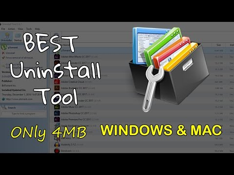 BEST UNINSTALLER (Windows/Mac OS) Uninstall Tool