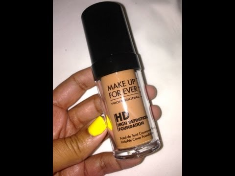 Before & After | MakeUp Forever HD Foundation