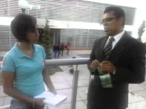 Entrevista Ivette en Facultad de Administración BUAP