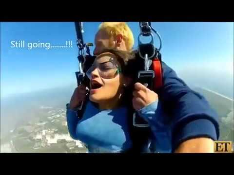 Hot Girl Has MULTIPLE Orgasms During Skydiving!