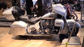 4. 2018 Indian Roadmaster - Walkaround - 2017 EICMA Milan Motorcycle Exhibition