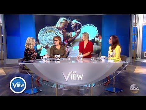 Maria Sharapova - Explains Suspension & Serena Williams Comments (The View)