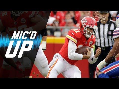 Video: Alex Smith Mic'd Up vs. Bills