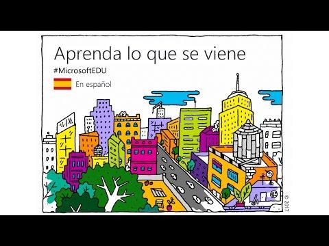 Microsoft Educación: What's Next #MicrosoftEDU en Directo en Español
