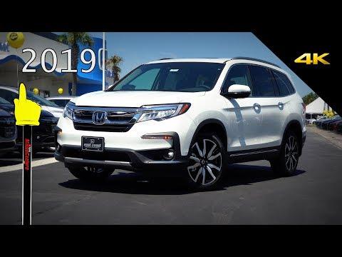 2019 Honda Pilot Touring AWD   Ultimate In Depth Look In 4K