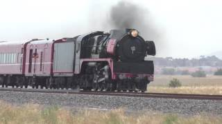 Gowanbrae Australia  city photo : Australian Steam Trains R707 Steam Locomotive around Melbourne