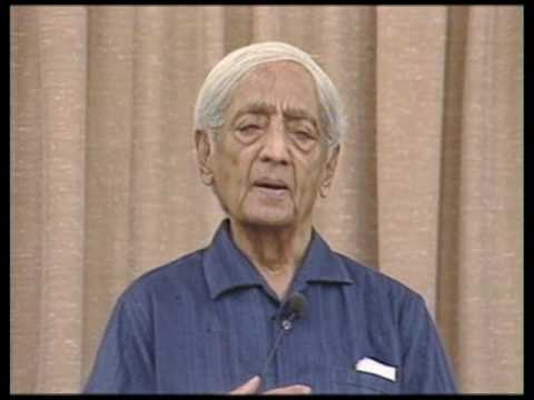 How far would we go in pursuing something serious in life?  J. Krishnamurti