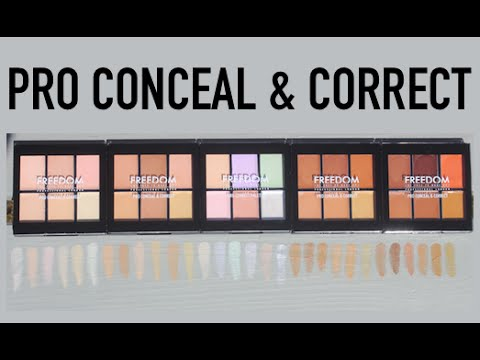 Freedom Pro Conceal & Correct Palette Medium/Deep