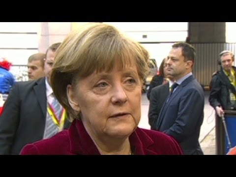 sanctions - German Chancellor Angela Merkel describes potential consequences of Russian actions in Ukraine.