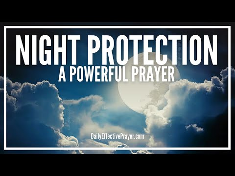 Prayer For Night Protection - Night Prayer For Protection