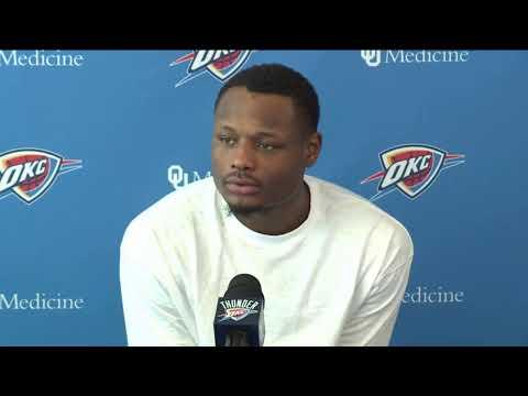 Live Stream: Thunder Exit Interviews