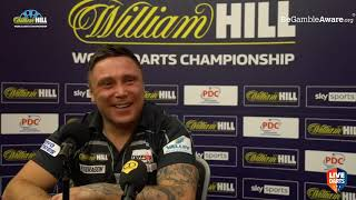 """Gerwyn Price on reaching World Championship final: """"The trophy's coming home to the right place"""""""